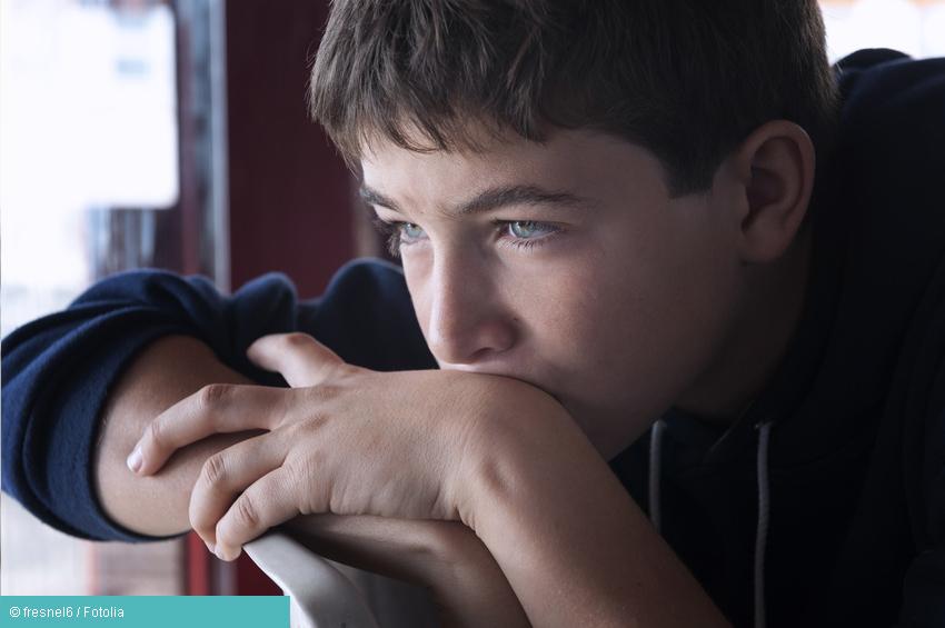 Kind mit Depressionen
