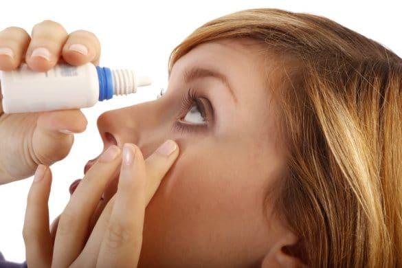 Augentropfen gegen Heuschnupfen