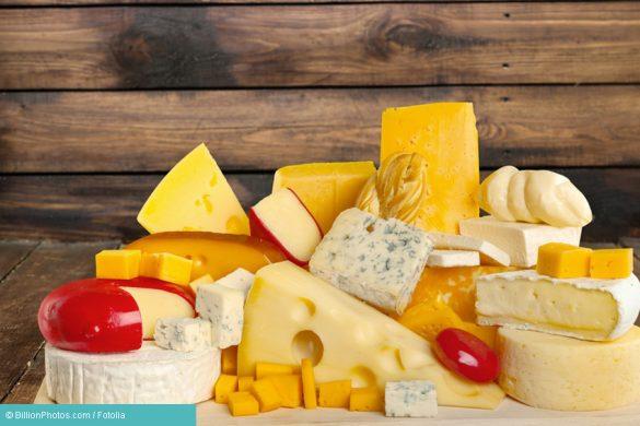 Käse als Beispiel einer Histamin Allergie