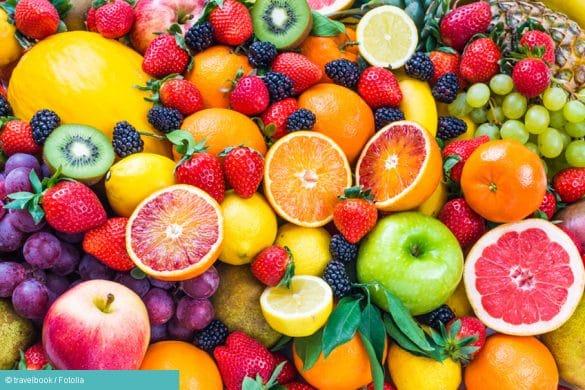 Verschiedene Früchte bei Kreuzallergie