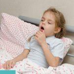 Kind mit Keuchhusten