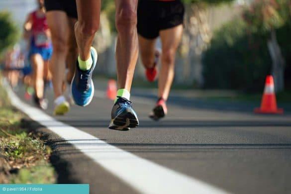 Sportler beim Joggen
