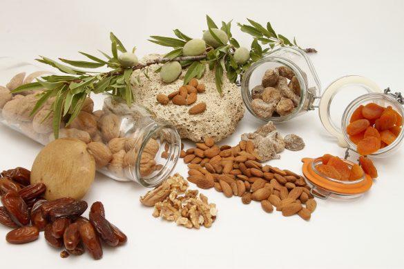 Nüsse enthalten Eisen