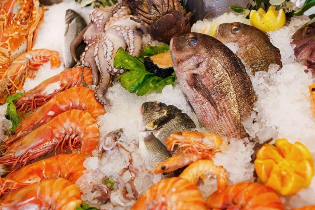 Fisch und Meeresfrüchte sindreich an Zink und stärken das Immunsystem