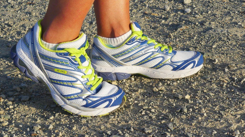 Laufschuhe, Sport begünstigt Nagelpilz