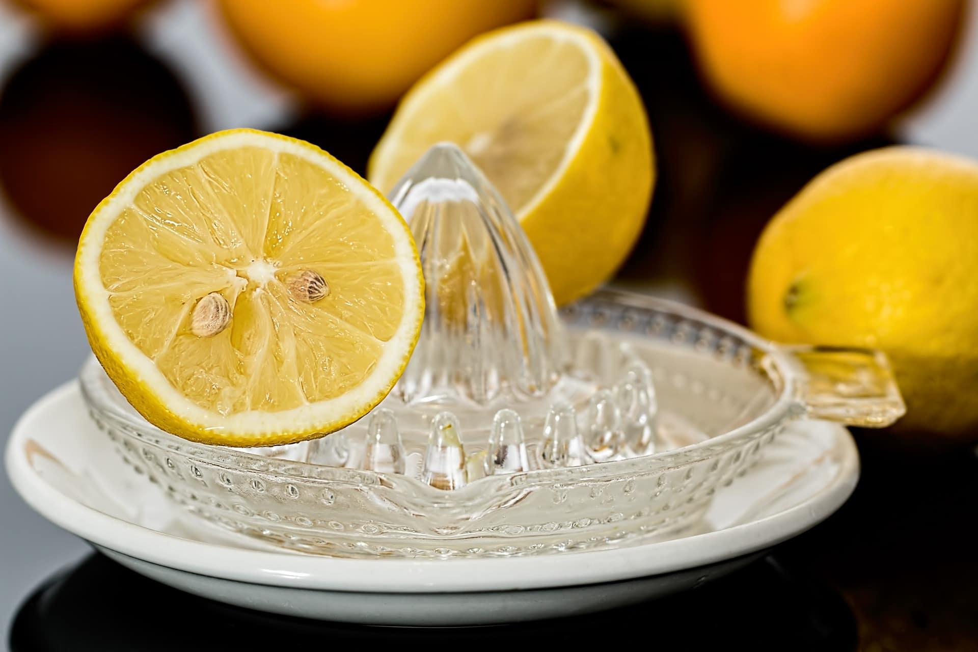 Zitronenpresse, Zitronensaft