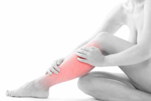 Wadenschmerzen - Schienbein schmerzen