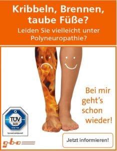 Leiden Sie unter Polyneuropathie?