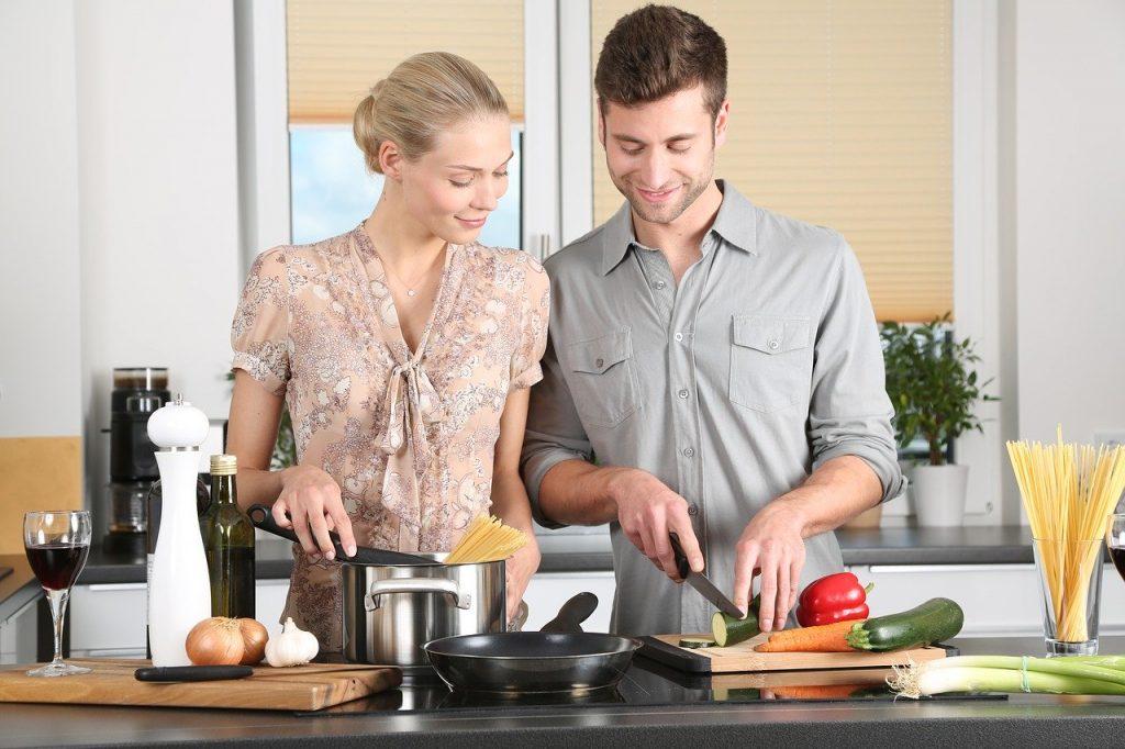 gemeinsame Kochen